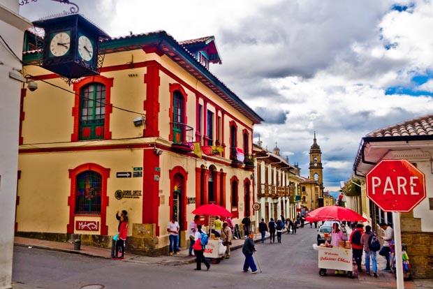 Bogota, Cafes